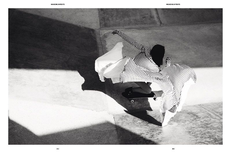Keep moving... Aymeline Valade by Jan Welters for Antidote magazine