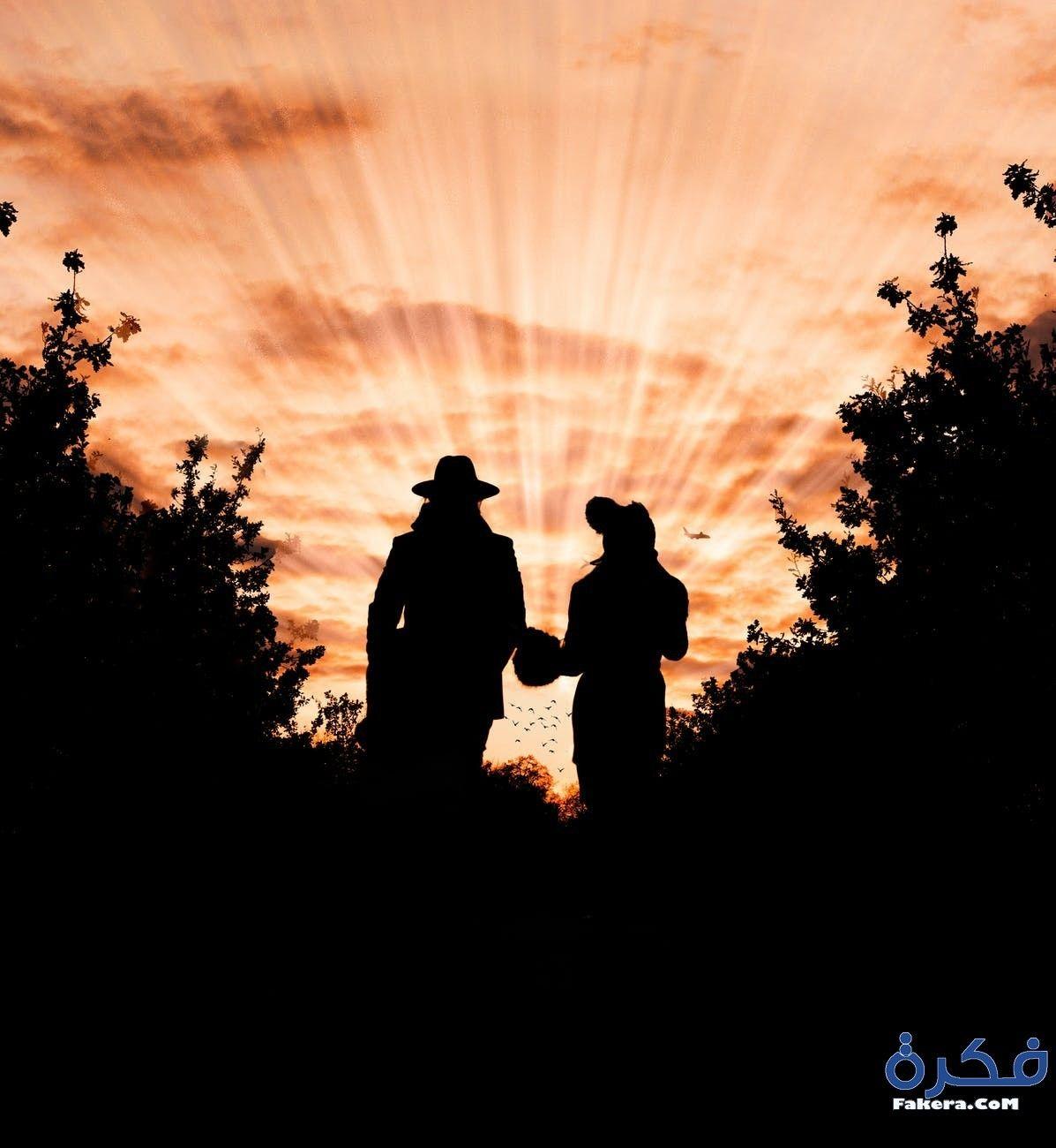 تفسير حلم رؤية موت الزوج او موت الزوجة في المنام موقع فكرة Landscape Silhouette Photos Sunset Photos