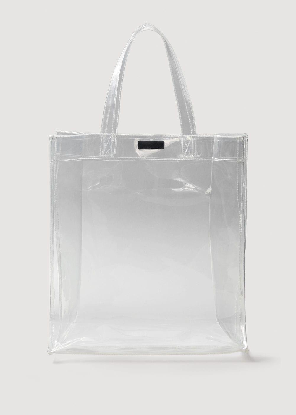 808bcb8ae19 Vinyl shopper bag - Woman in 2019   Accessories   Pinterest   Bags ...