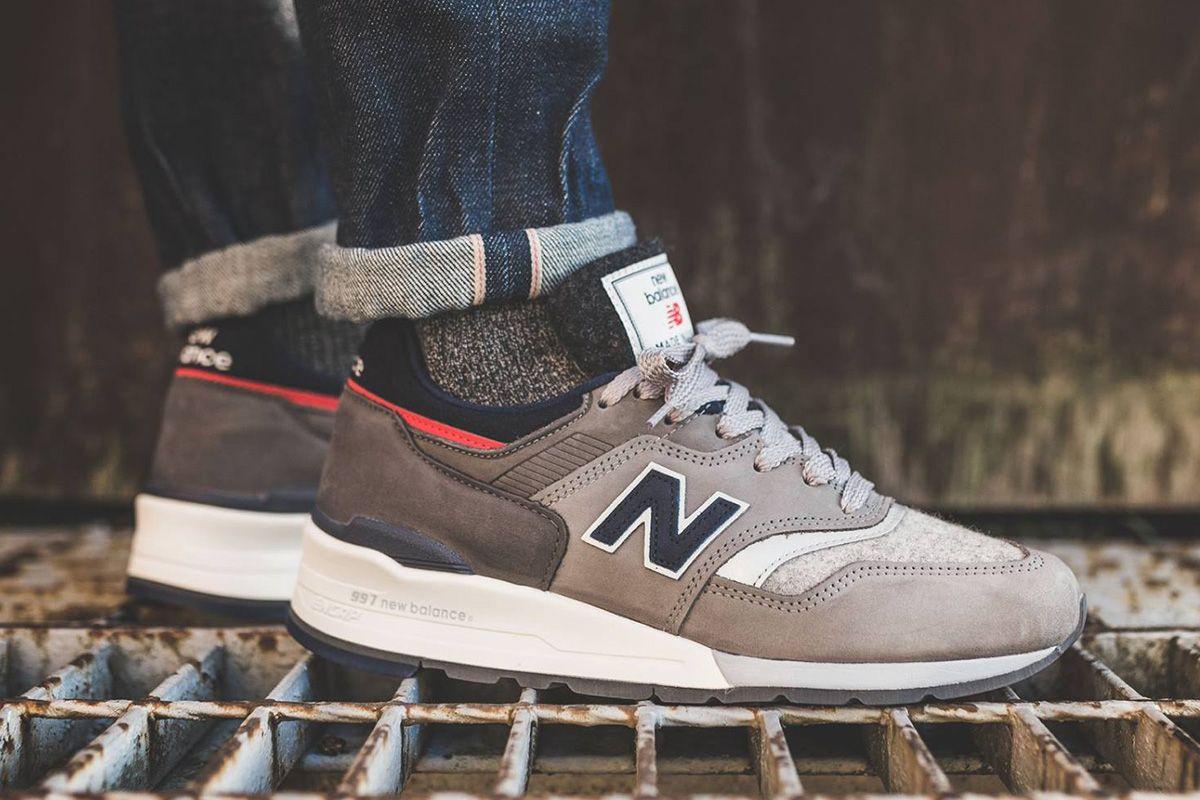 New Balance M997WL x Woolrich - EU Kicks: Sneaker Magazine