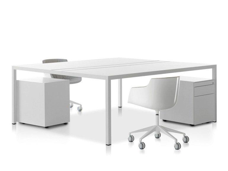 Workstation Desk Design desk 3.0 office workstationmdf italia design francesco bettoni