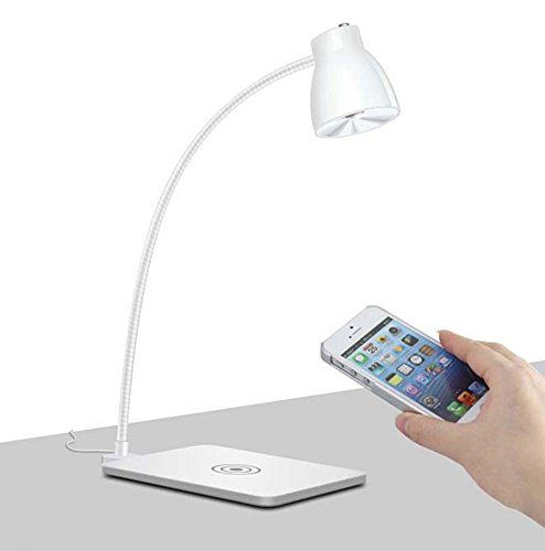 Lovely Lampada Led Qi Wireless Charger Charging Pad S6 Tabel Light Combinated  Reading Light U0026 Wireless Charging