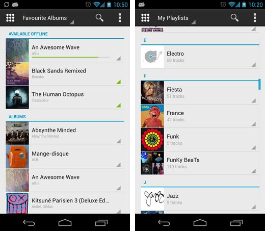 Deezer Launches Recharged Android App In Beta With Fresh Design