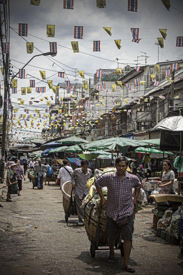 Pak Khlong Talat market - Bangkok, Thailand | by zagoiize