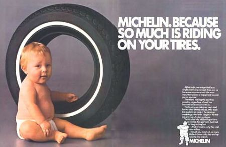Michelin is a caregiver brand. They pride themselves on the safety ...