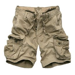 cargo shorts *Sort of rugged, messy look to it; something that I ...