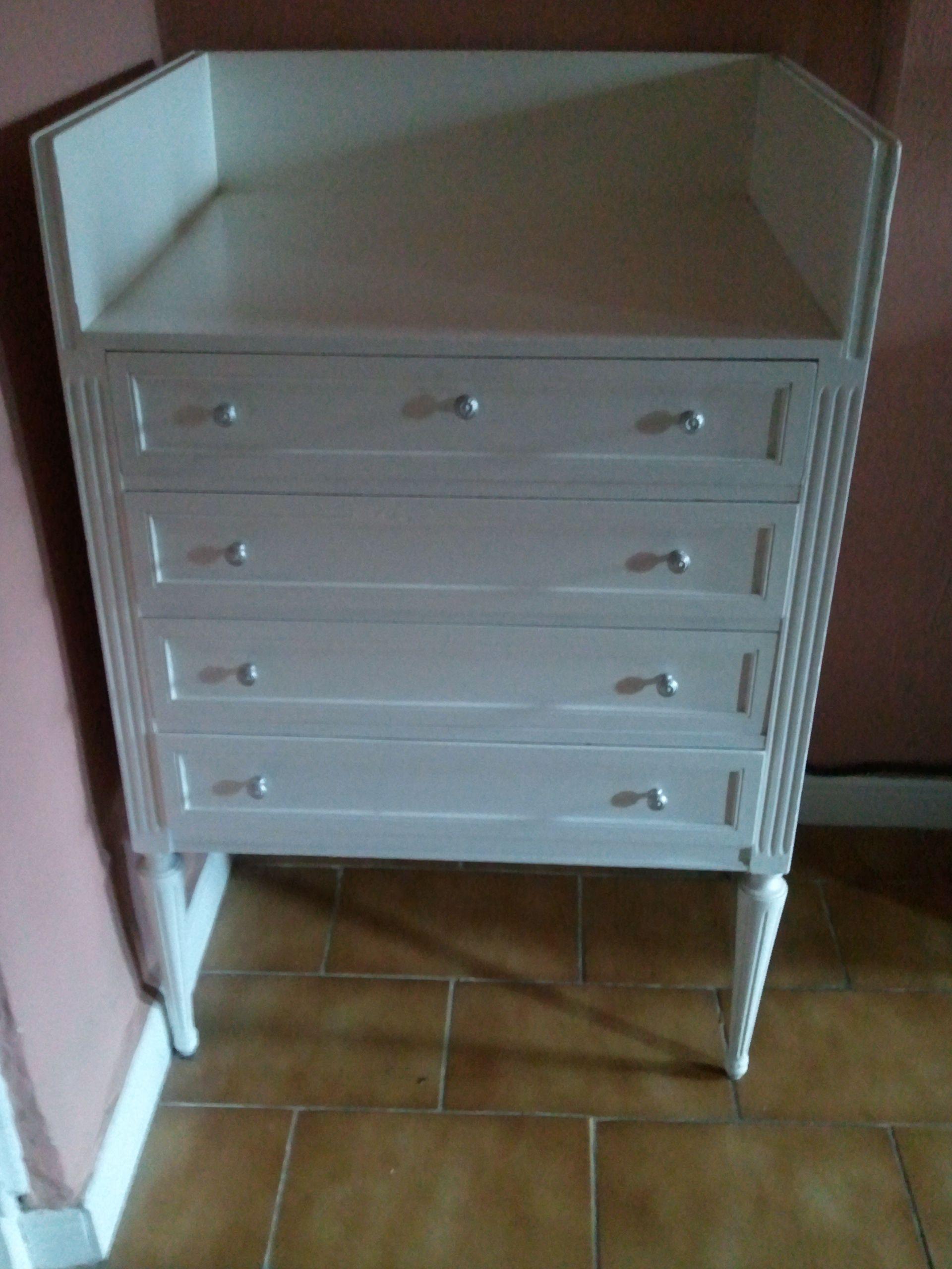 Mueble Reciclado De Una Joyeria Mediante Lacado En Blanco Y  # Muebles Para Joyeria