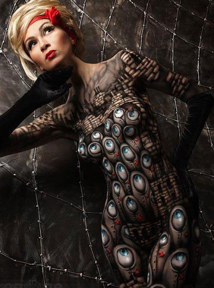 Silo Tattoos Incredible Body Art Masterpieces That Look: Body Painting, Body Painting Pictures, Body Art
