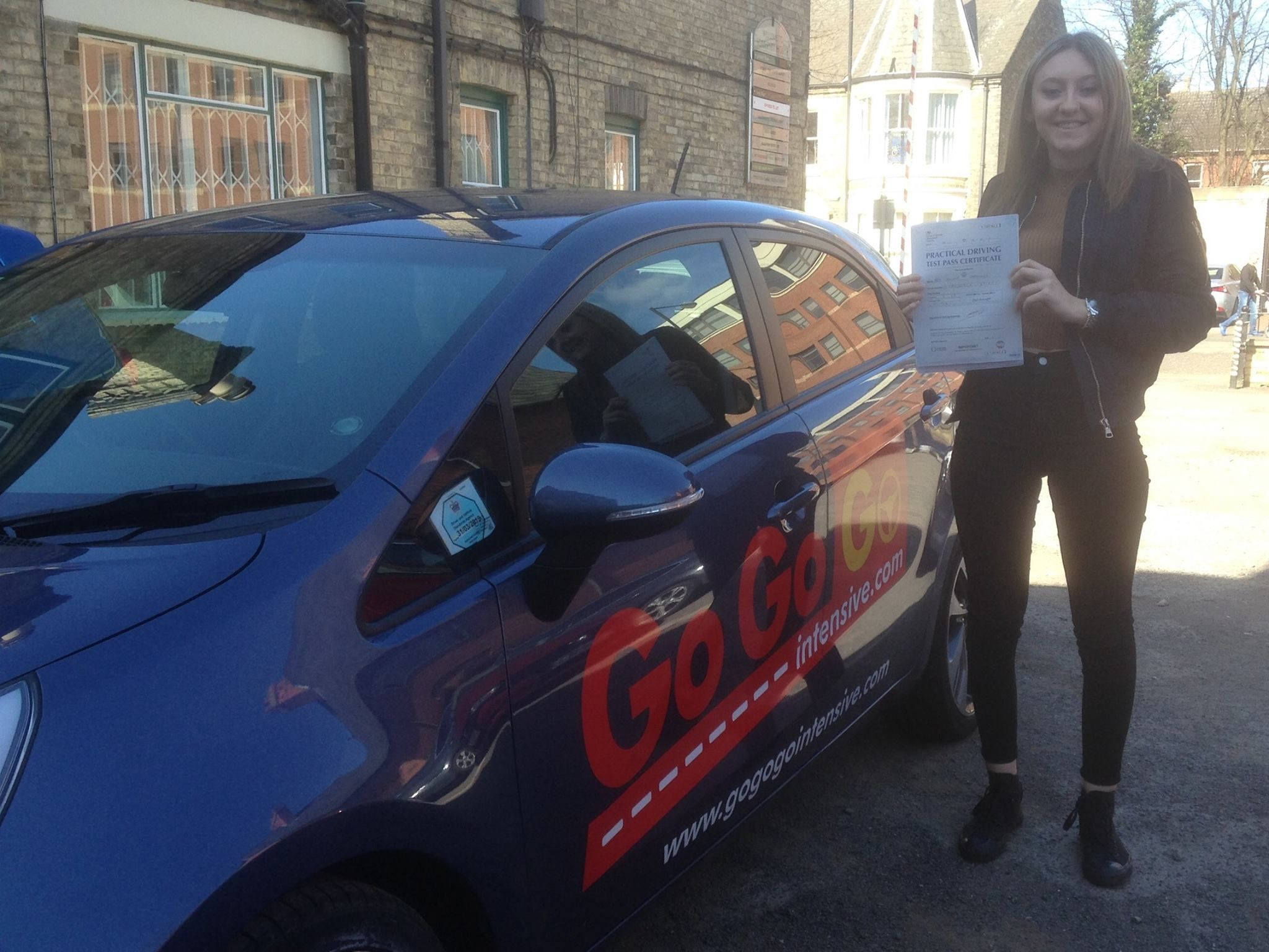 Congratulations to jennifer hargreaves who passed her
