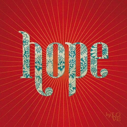 Audacity Of Hope Quotes: Red And Turquoise
