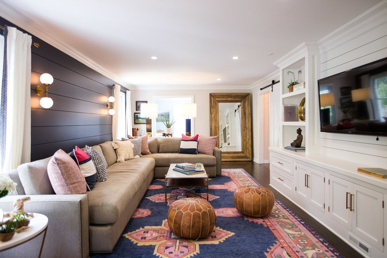 Pin On Gilded Mint Living #shiplap #wall #in #living #room