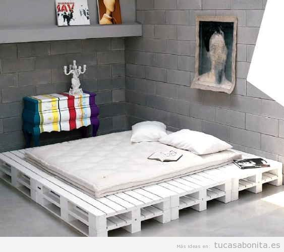 ideas para hacer camas de matrimonio con palets 1 dise o pinterest camas de matrimonio. Black Bedroom Furniture Sets. Home Design Ideas