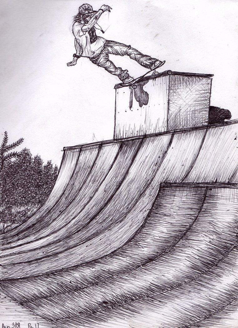 skateboarding drawing - Google Search | Projects to Try | Pinterest