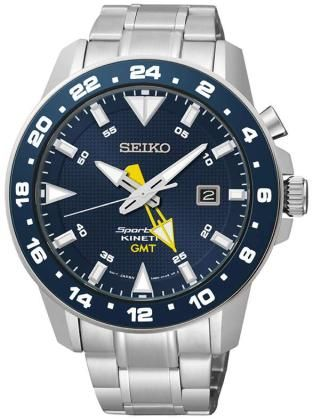 Seiko SUN017P1 Sportura Kinetic GMT