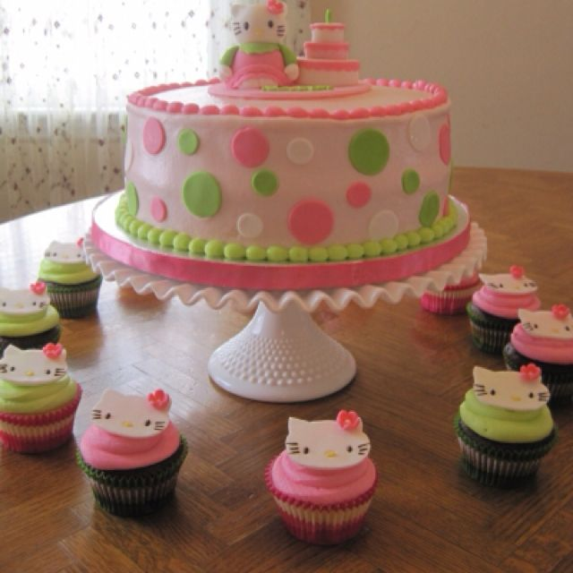 What A Great Cake For A 5 Year Old Girl With Images Hello