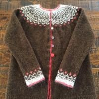 You have to see My top-down Icelandic Sweater... by Angela Leeds!