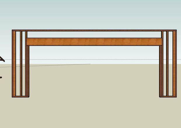 How To Frame A Garage Door Precision Garage Door Of Knoxville Garage Door Framing Garage Doors Door Header