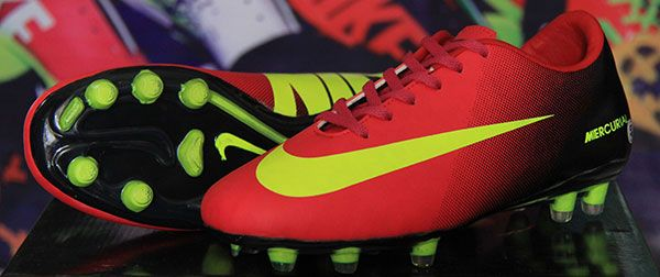 Sepatu Bola Nike Vapor Ix Hitam Merah Strip Stabilo Rp 135 000 Bb