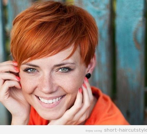 short red hairstyles 2014 | world class celebrities with cute short red hairstyles 2014