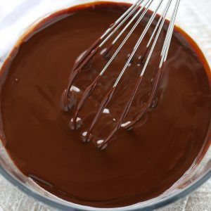 Learn how to make chocolate ganache with this easy tutorial. This simple ganache recipe requires just two ingredients and is ready in 5 minutes!