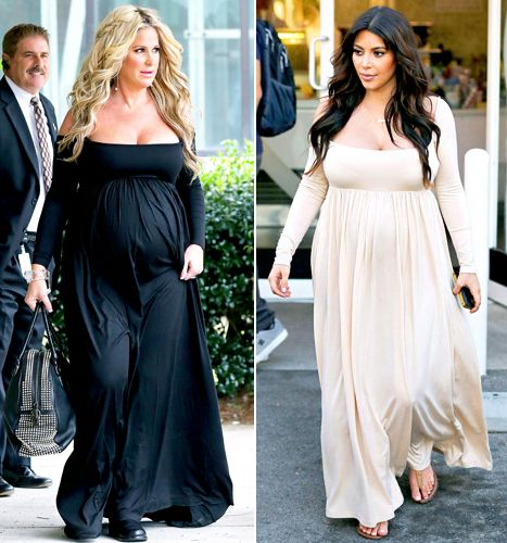 Maxi dresses during pregnancy
