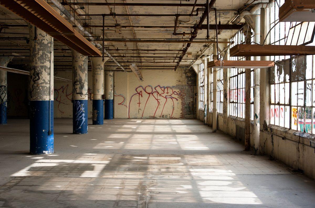Warehouse Interior | The Best Abandoned Building In Cincinnati