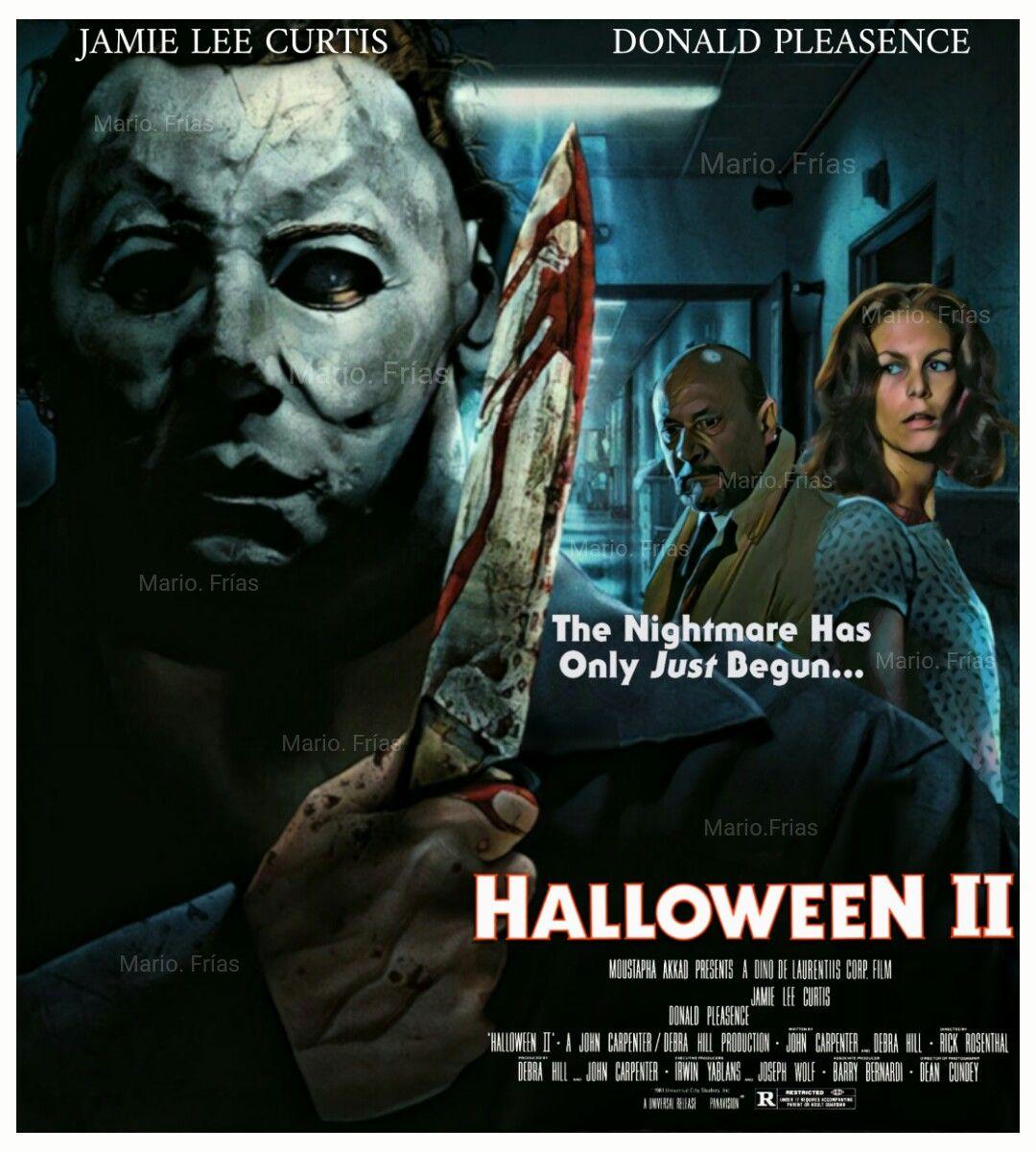 Halloween 2 1981 Horror Movie Slasher Re Edit By Mario. Frías ...