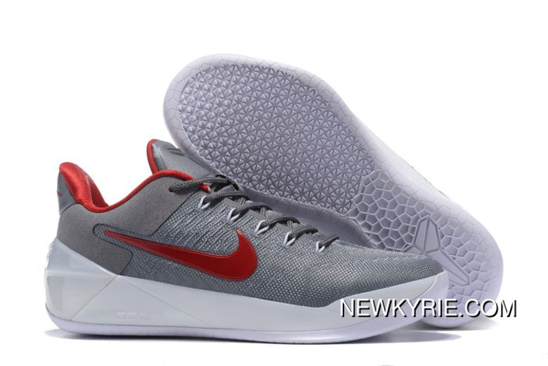 "df68957718df Before The Storm"" Nike Kobe 12 AD Grey Red – White Super Deals in ..."