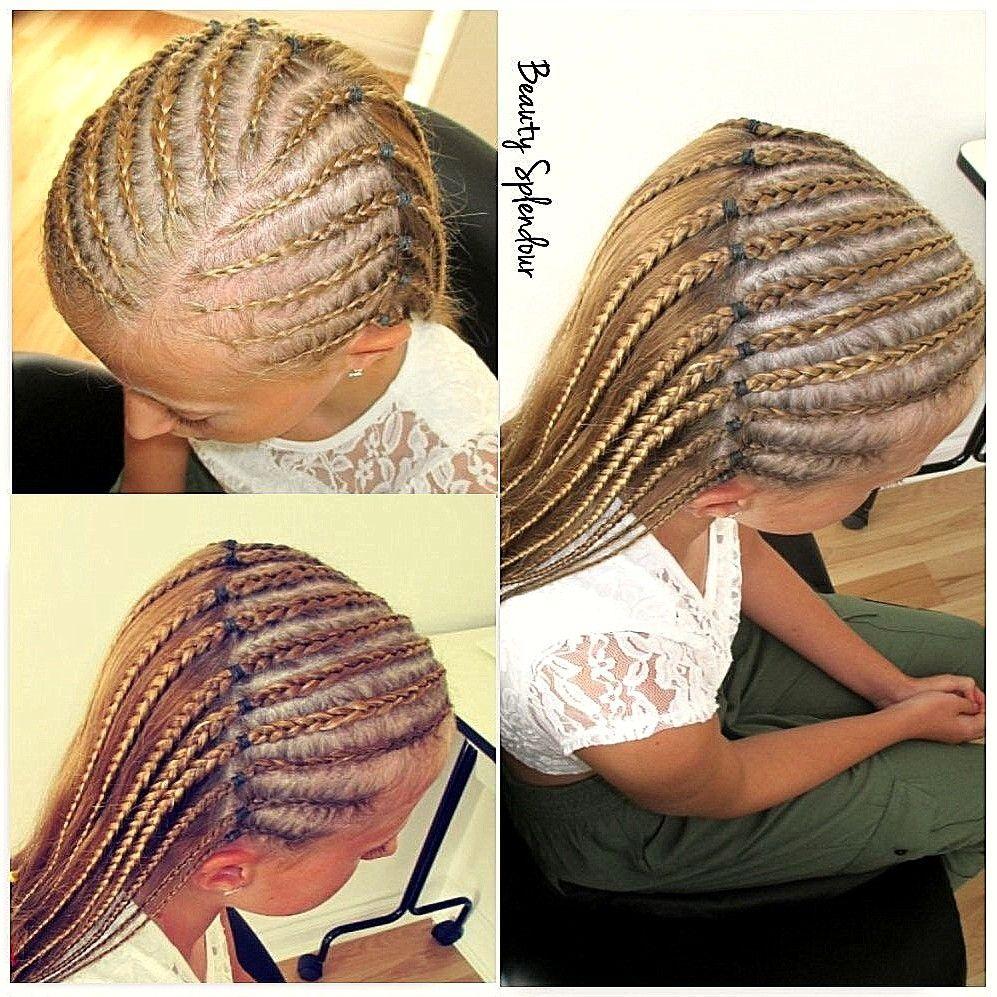 Half Head Cornrows Braided Hairstyles Kids Hairstyles