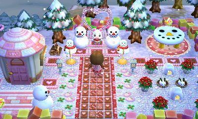 ハピ森 幸せな雪見生活とqrの設計 17 ペットの部屋 どうぶつの森amiiboカード どうぶつの森