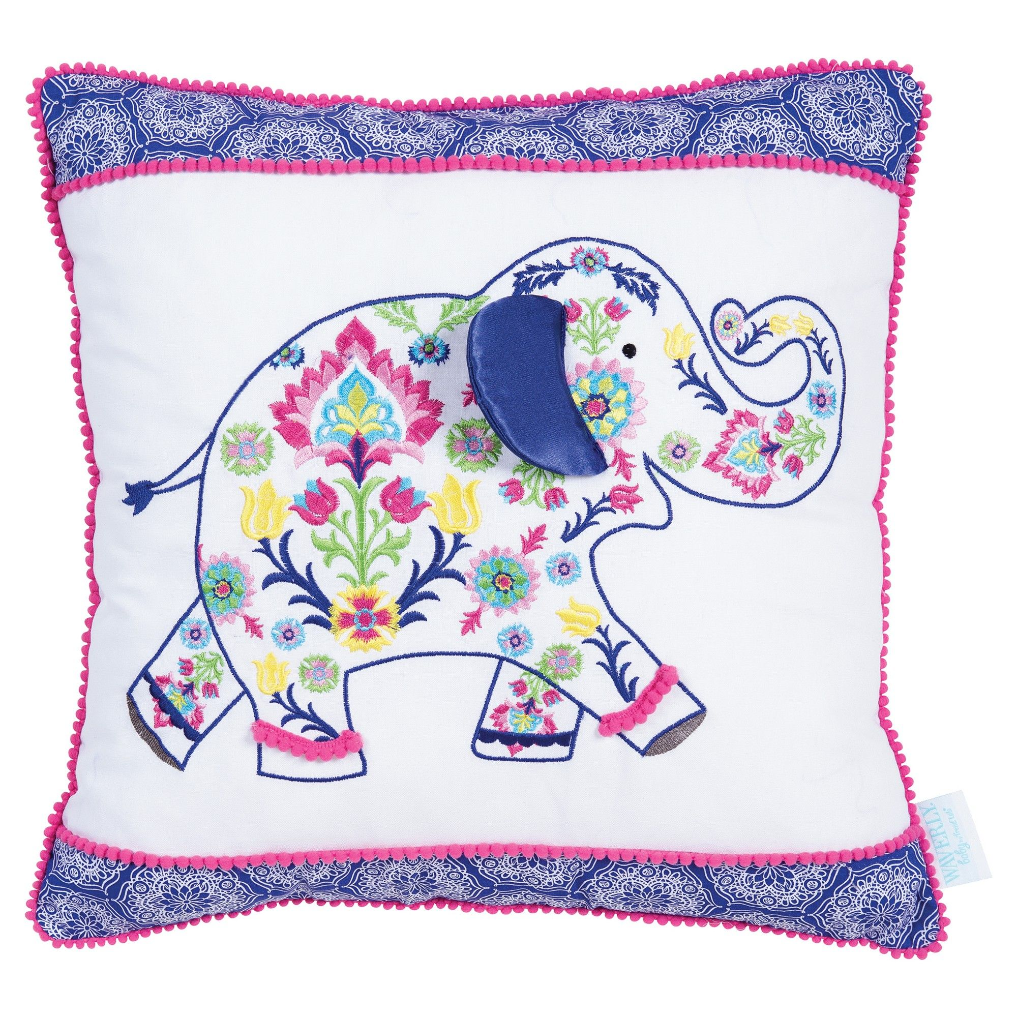 Waverly Baby By Trend Lab Throw Pillow Santa Maria