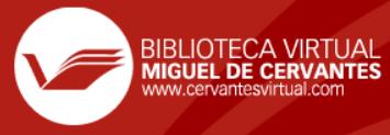 Recurso de la Biblioteca Virtual Miguel de Cervantes que permite realizar  búsquedas en el texto de las obras digital…   Bibliotecas virtuales,  Cervantes, Biblioteca