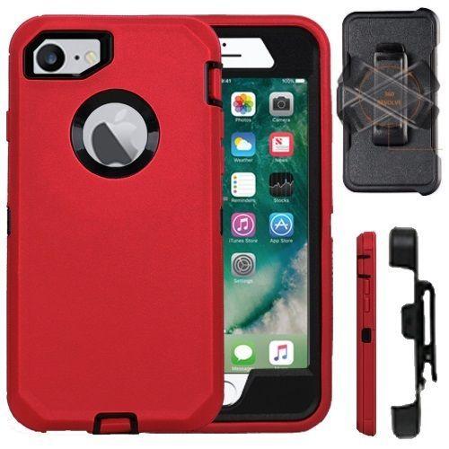 promo code b47c1 25e20 Iphone 7 & 7 Plus Shockproof Cover (Belt Clip Fits Otterbox Defender ...