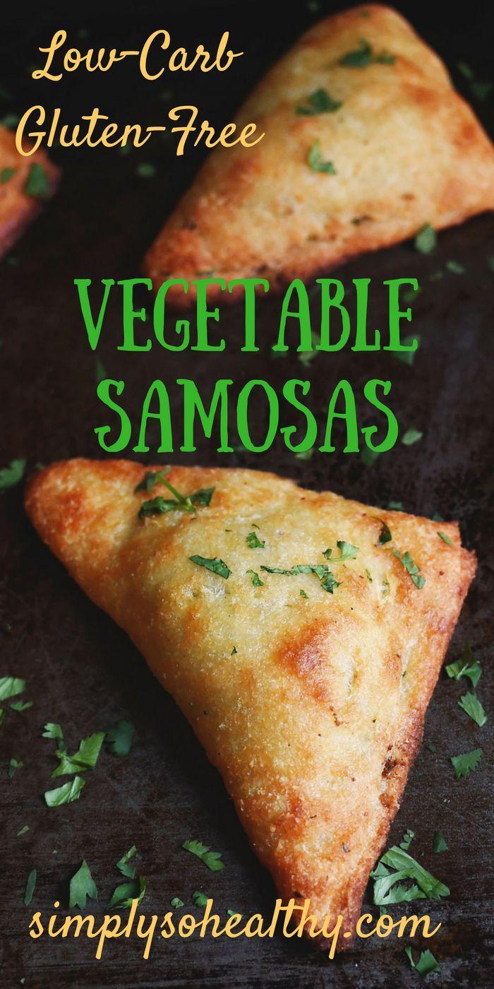 Low Carb Indian Samosas