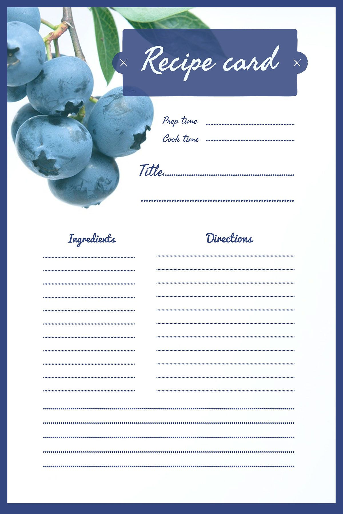 Free Online Recipe Card Maker Adobe Spark Recipe Cards Template Printable Recipe Cards Recipe Cards