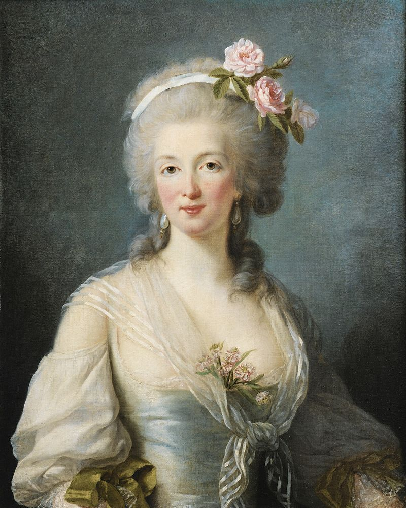 Jeanne Lamotte Valois Jeanne De Valois Saint Remy Wikimedia Commons 18th Century Paintings Rococo Art Rococo Painting