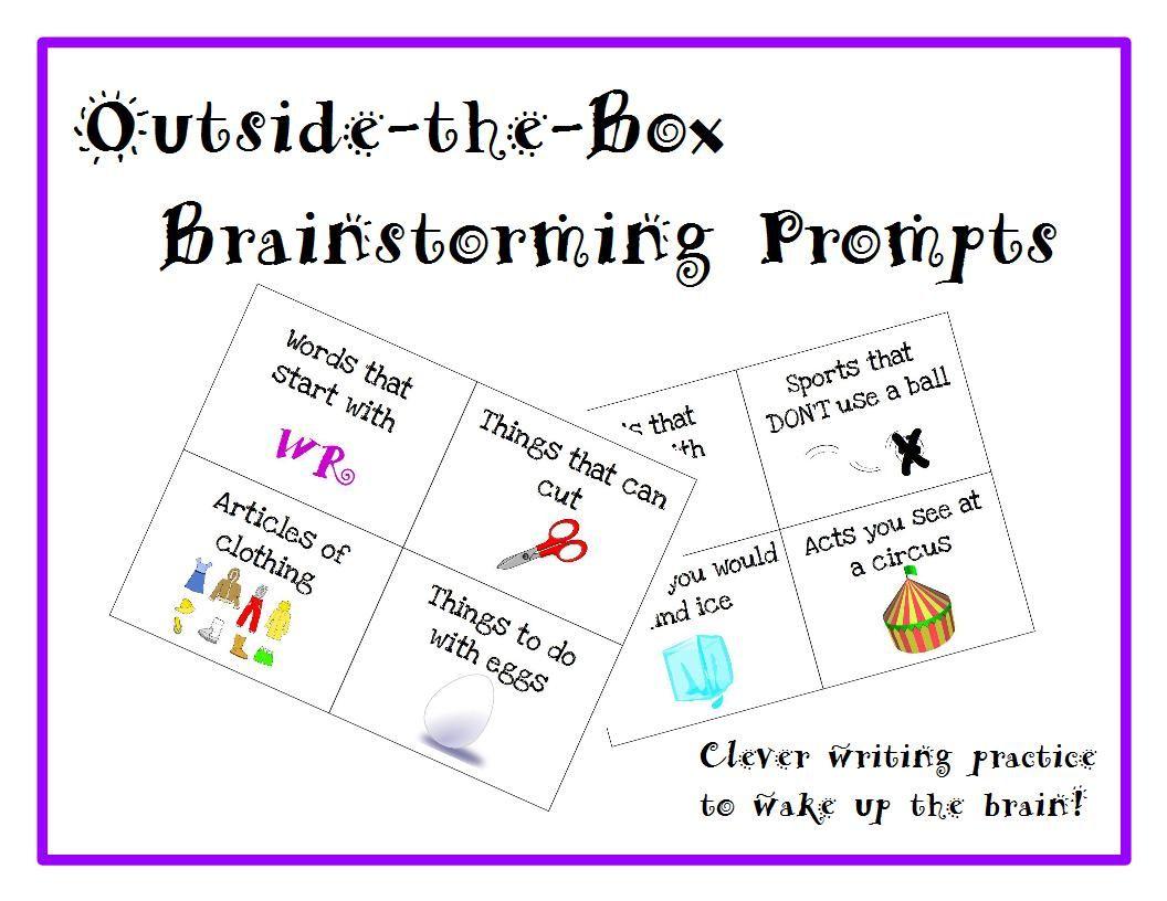 Brainstorming For Writing Brainstorming For Writing A