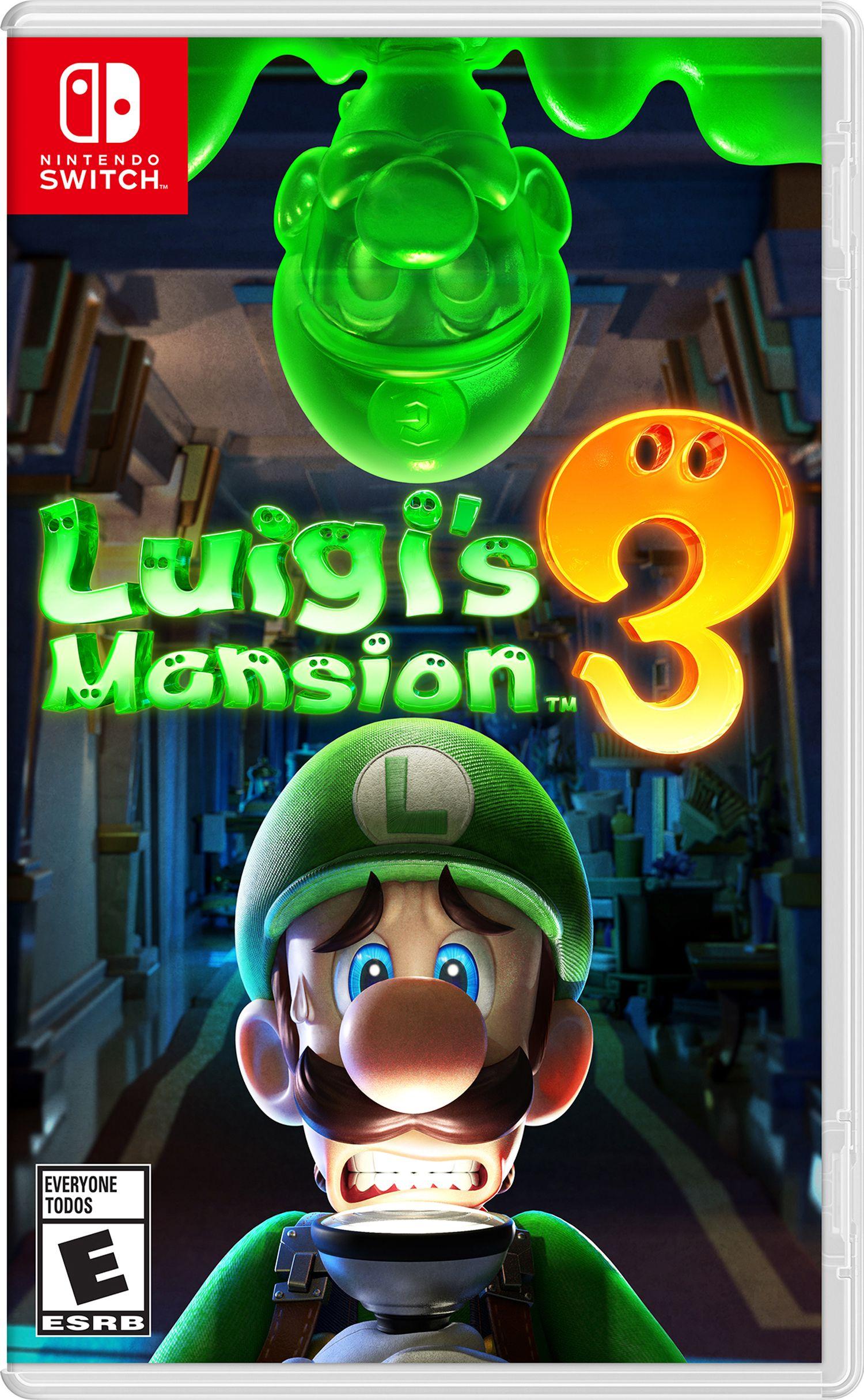 Luigi S Mansion 3 Nintendo Nintendo Switch Walmart Com Luigi S Mansion Luigi S Mansion Nintendo Switch Games