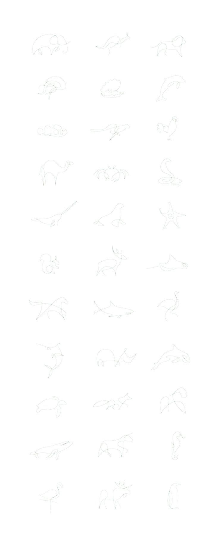 Tiny Tattoo-Idee von coolTop – Minimalistische Tiere von einem französischen Künstlerduo   … - Amy - #Amy #coolTop #einem #französischen #Künstlerduo #minimalistische #TattooIdee #Tiere #Tiny #von