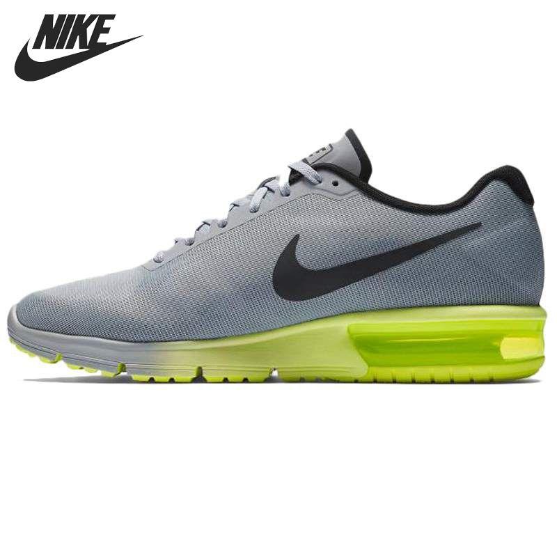 Asli Baru Kedatangan Sekuen Nike Air Max Pria Menjalankan Sepatu