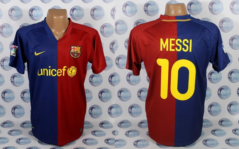 BARCELONA 2008 2009  10 MESSI HOME FOOTBALL SOCCER SHIRT JERSEY CAMISETA L   Nike  BARCELONA f3426a15a2db4