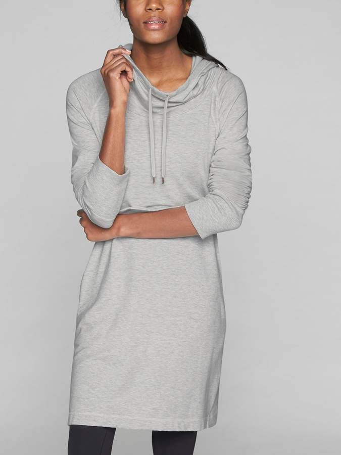 efa053ffb23 Athleta Cowl Lounge Sweatshirt Dress