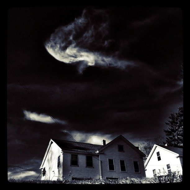 Taken in my home town in central Mass. With the now defunct Gotham filter from instagram. #gothamforever