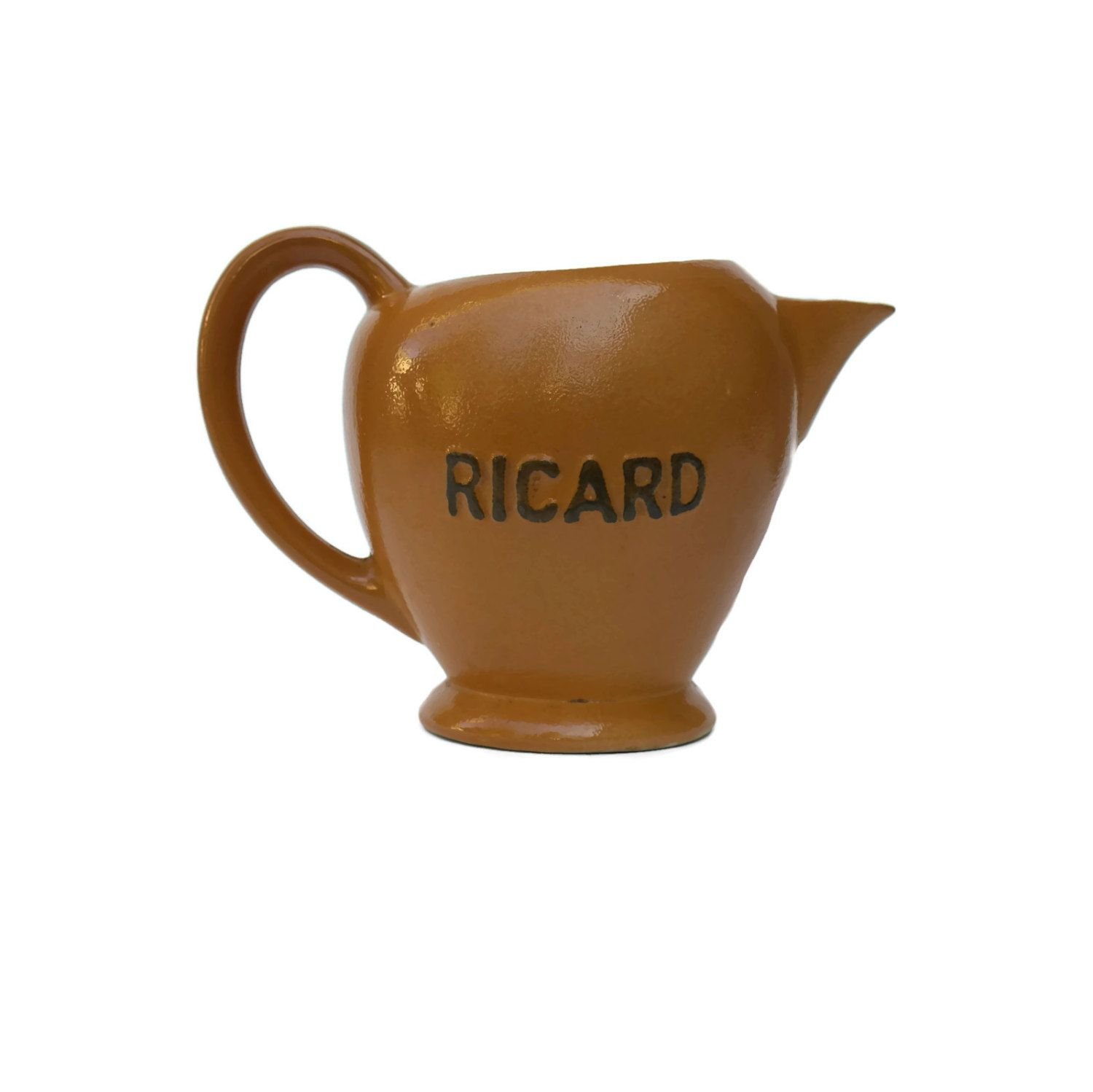 french bistro ricard pastis pitcher french advertising mid century