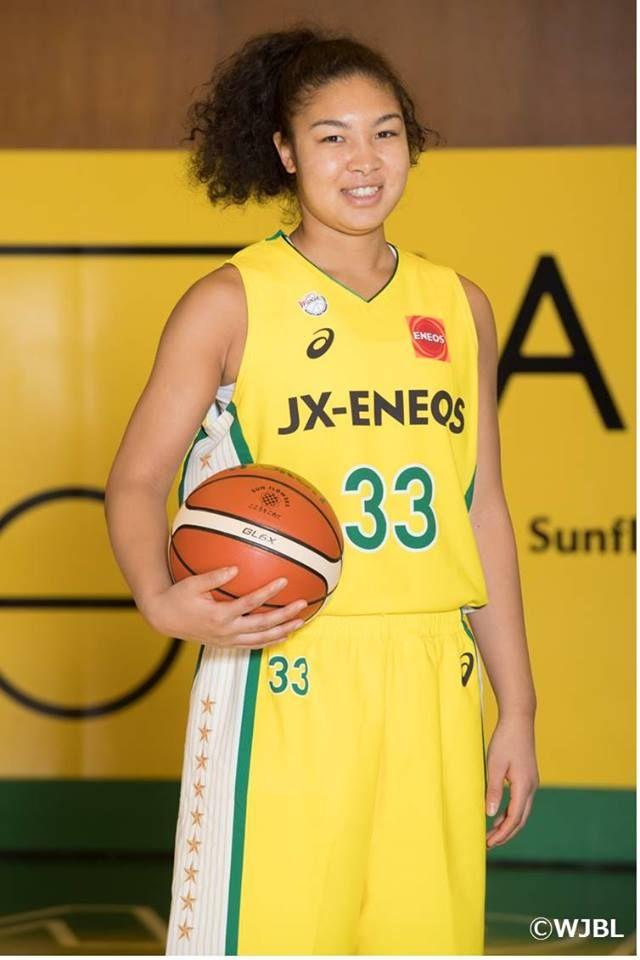 33 梅沢 カディシャ 樹奈 ウメザワ カディシャ ジュナ コートネーム ジュナ 桜花学園高校出身 188cm C バスケットボールを始めたきっかけは 中学の時バスケ部に入る友達が多かったので 友達の多いバスケ部を選びました コートネームの由来は