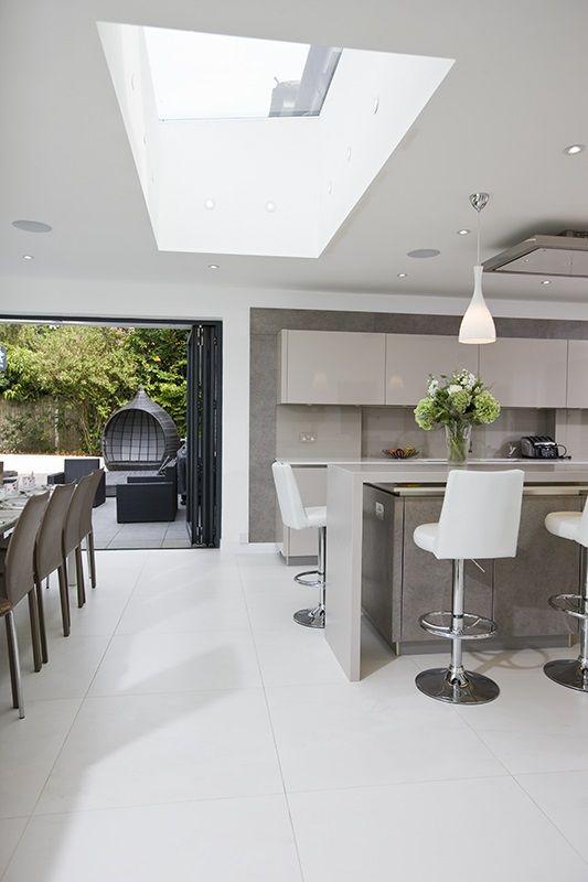 Chestnut Lodge skyview skylights in stunning kitchen.   in Kitchen ...