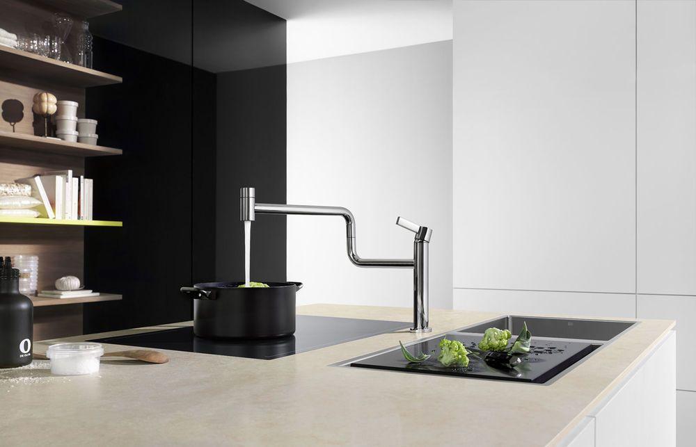 Dornbracht kitchen mixer tap swivel spout. Dornbracht German Tapware ...