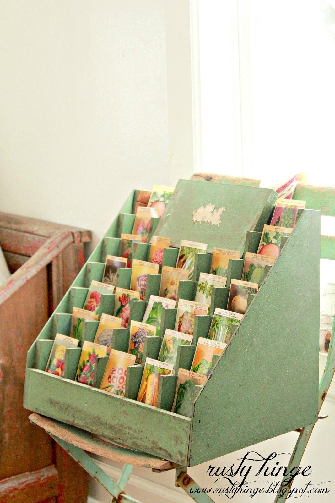 Vintage seed collection