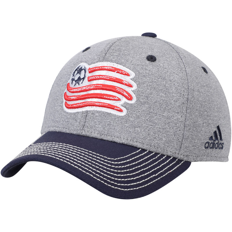 the latest 70ab3 bcc17 New England Revolution adidas Two Tone Structured Adjustable Hat – Gray Navy