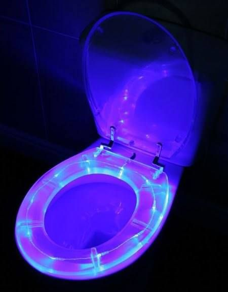 Glow In The Dark Toilet Seat With Images Cool Toilets Toilet